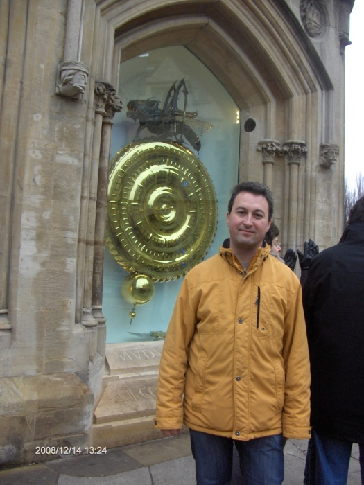 Sot with Corpus Chronophage in Cambridge, UK