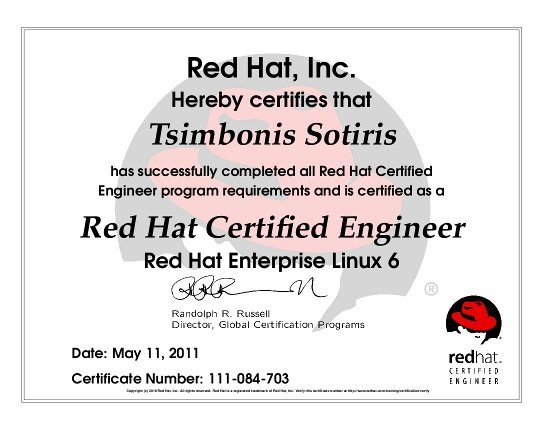 Red Hat Certified Engineer – Don\'t fear the penguin